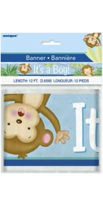 Amazon boy monkey baby shower invitations 8ct kitchen dining boy monkey baby shower invitations 8ct boy monkey baby shower wrapping paper boy monkey baby shower diaper cake kit 25pc boy monkey baby shower filmwisefo