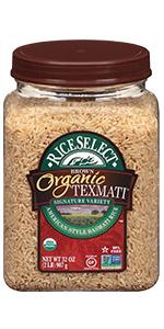 RiceSelect Organic Texmati Brown Rice