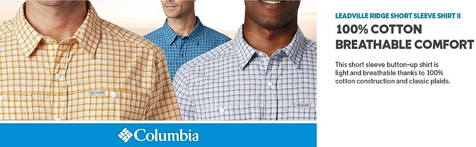 Columbia Men's Leadville Ridge Short Sleeve Shirt