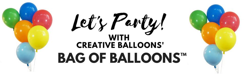 Latex Balloons, Balloons, Bag of Balloons, Helium Balloons, Party Balloons, Birthday Balloons
