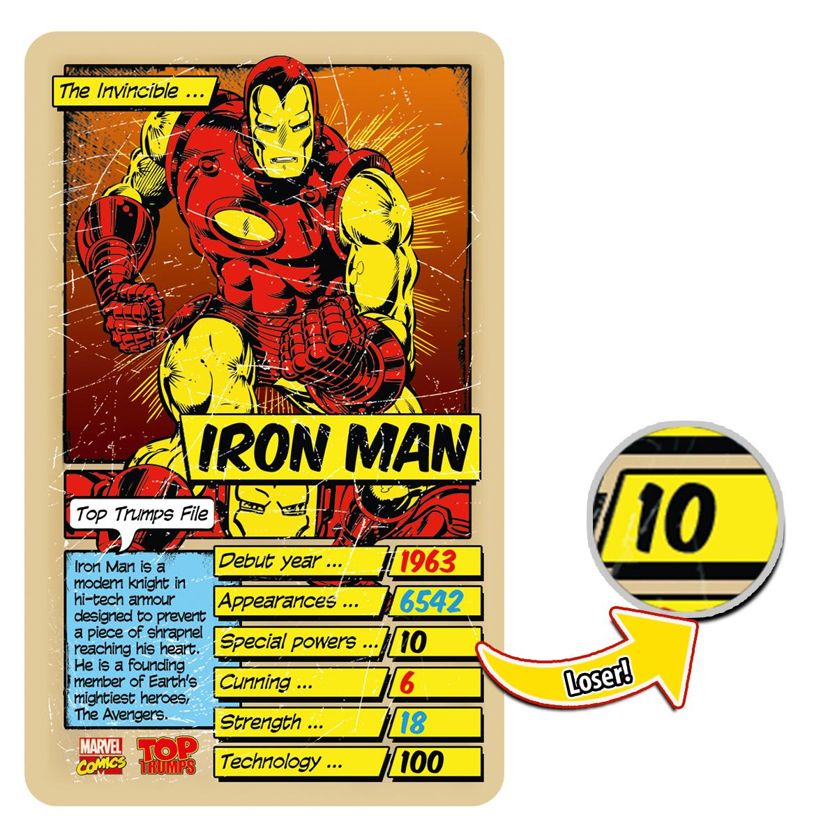 Top Trumps Marvel Comics Retro Card Game: Amazon co uk: Toys