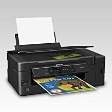 Epson Expression ET-2650 EcoTank Wireless Color All-in-One Small Business Supertank Printer with Scanner and Copier