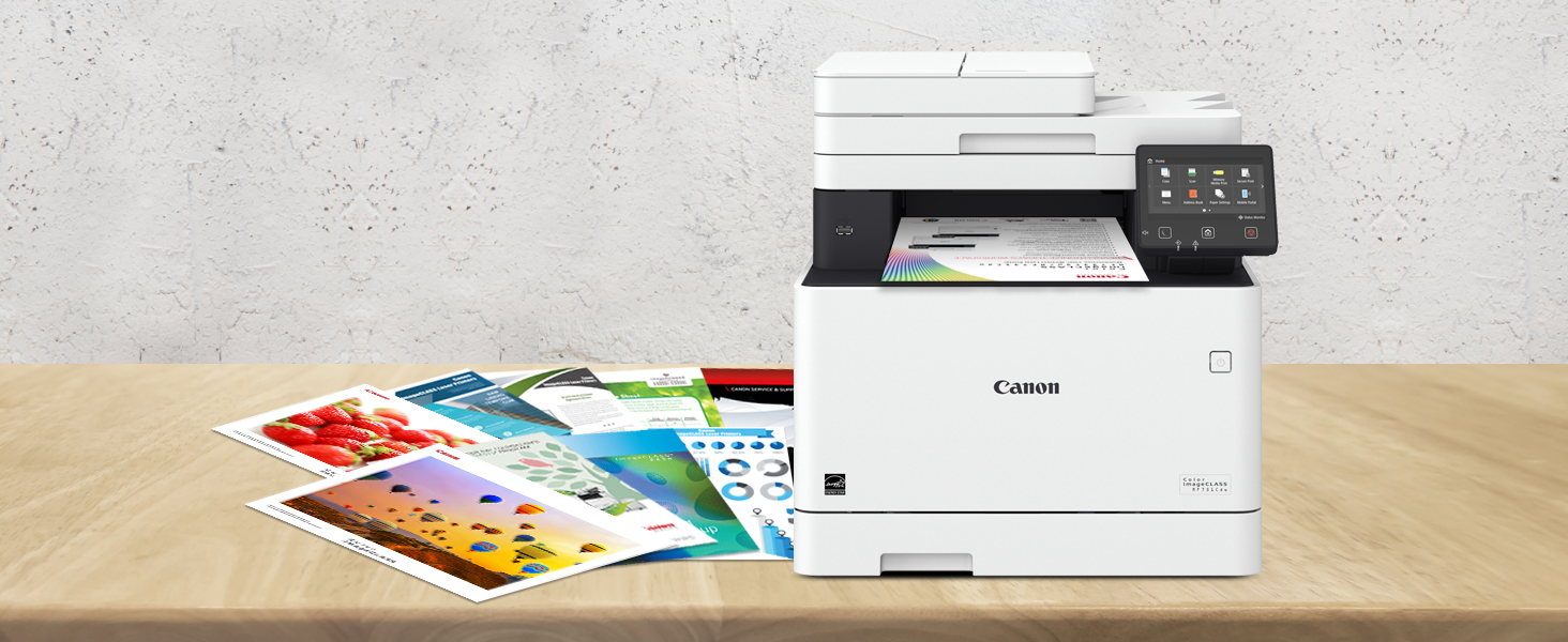 Canon Color imageCLASS MF731Cdw - Multifunction, Wireless, Duplex Laser Printer (Comes with 3 Year Limited Warranty), Amazon Dash Replenishment ...