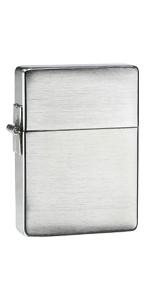 zippo, zippo lighter, replica lighter, zippo replica lighter, 1935 replica lighters, brushed chrome