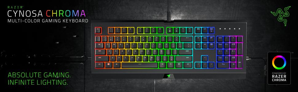 Razer Cynosa Chroma, Teclado Gaming, RGB Chroma