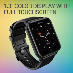 Color display touchscreen