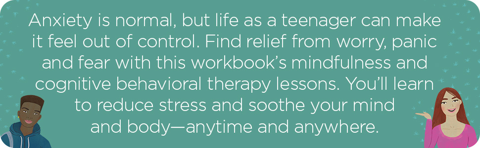 Anxiety,teens,social anxiety,workbook,mental health