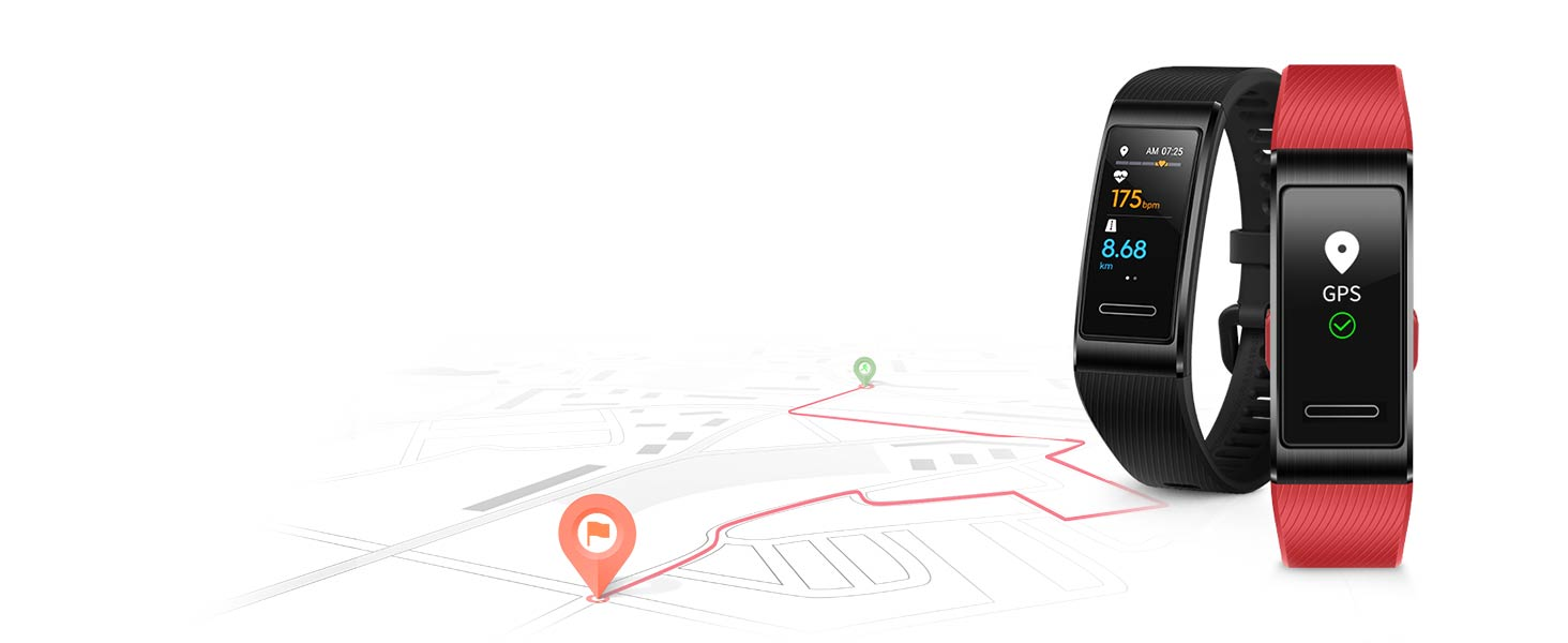 Powerful Built-in GPS: Leave Your Phone at Home