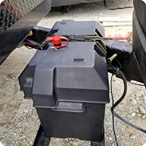 Ampper battery disconnecting switch