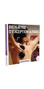 Bien-être d'exception à Paris coffret box cadeau Smartbox