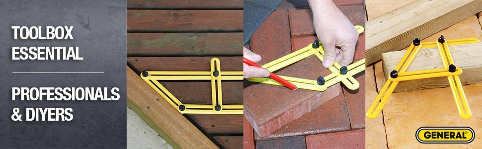 Angle Template Tool, Angle Measuring Tool, Precision Angle Measurement,  Tile Measuring