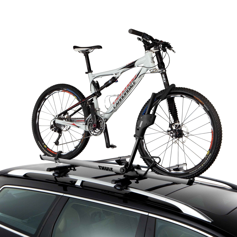 Thule 594xt Sidearm Rooftop Upright Bike Carrier Black