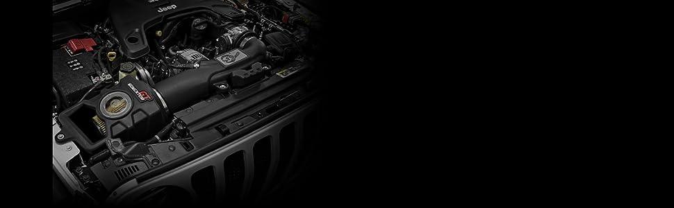 Jeep, JK, JL, Wrangler, performance, power, upgrade, cold air intake