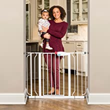 Amazon Com Regalo Easy Step 44 Inch Extra Wide Baby Gate