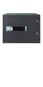 Yale YALYLB200EB1 Caja Fuerte Premium, Portatil 350 x 480 x 200 mm: Amazon.es: Bricolaje y herramientas
