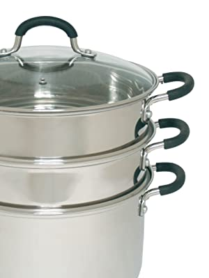 Stainless Steel Chinese Steamer Set