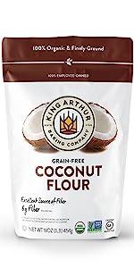 1lb Organic Coconut Flour