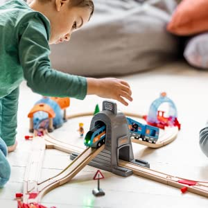 BRIO, Wooden Toys, Wooden Train Sets, Toys for Preschoolers, Smart Tech Sound