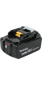 bl1840b battery 18v black volt cordless star gauge level light LED level