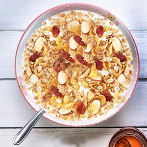 muesli,cereals,no sugar,healthy