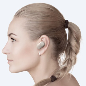 Fones de Ouvido Bluetooth Sem Fio Sony WF-1000XM3SMUC com