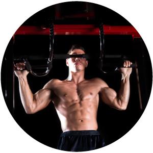 program push abs fitness exercise equipment seen