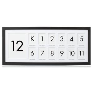 K-12 school days frame