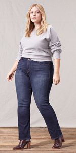 Levis Womens Slimming Straight Jean, Lavender Hill, 31 (US ...