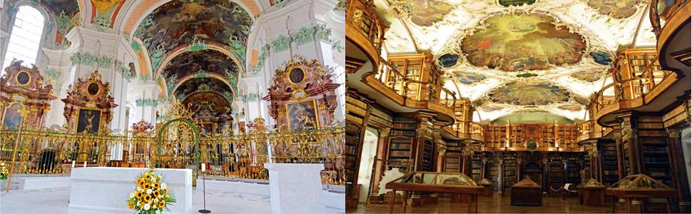 スイス,ザンクト・ガレン,聖ガルス,大聖堂,世界遺産,図書館