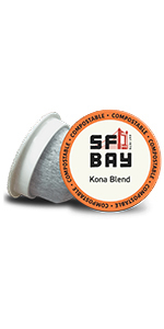 sf bay coffee, SanFrancisco bay coffee, coffee k cups, single serve pods