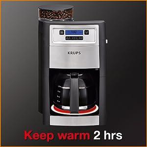 Amazon.com: KRUPS KM785D50, cafetera, color negro: Kitchen ...