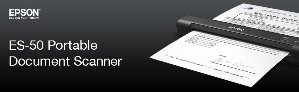 es50, es-50, portable, document scanner, epson document scanner, portable document scanner