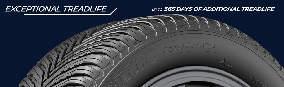 Exceptional treadlife.  Up to 365 days of additional treadlife.