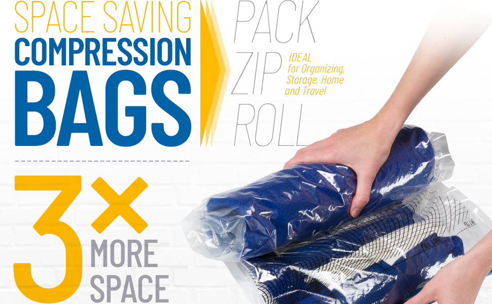 luggage bag compression clothes Pack space airpack travel bags travel seals plastic packing