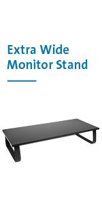 Kensington SmartFit Extra Wide Monitor Stand (K52797WW)