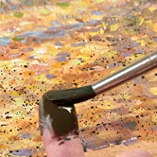 spattering,texture,texture in painting,painting,painting techniques,paint brush,brushes,paint,artist