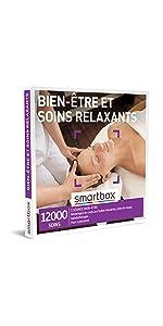 Bien-être et soins relaxants coffret box cadeau Smartbox
