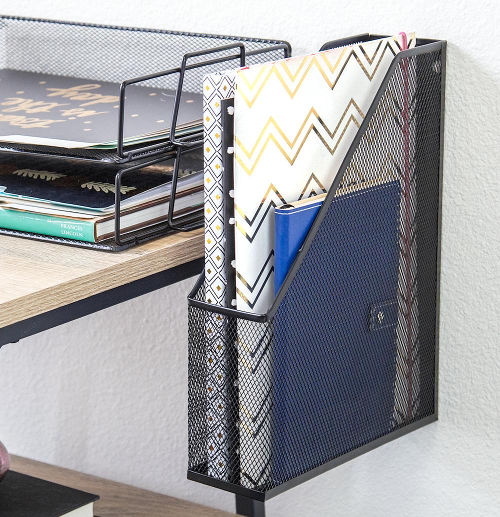 Amazon Com U Brands Mesh Steel Desktop Hanging File