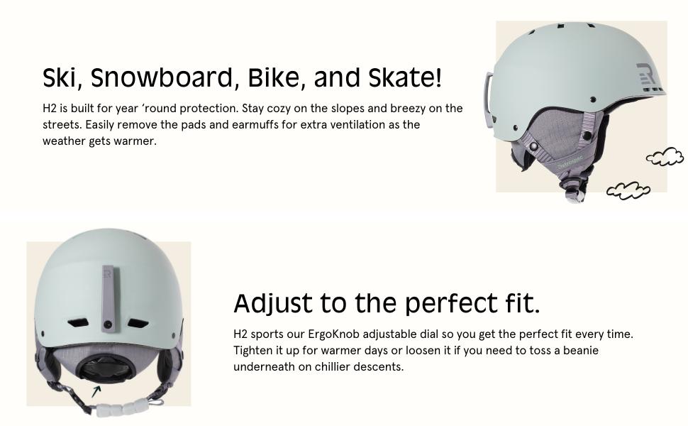 retrospec H2 Helmet