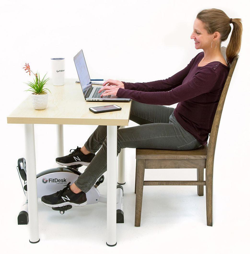 Amazon Com Fitdesk Under Desk Cycle And Exercise Bike