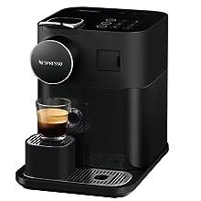 espresso machine nespresso lattissima black