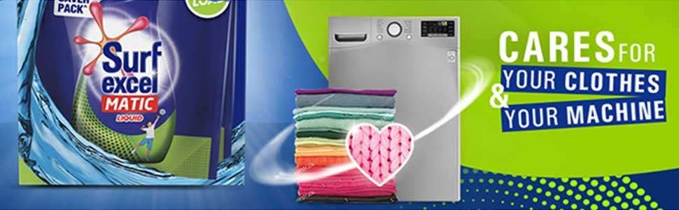 Surf Excel Matic Top Load Liquid Detergent Carton,, 2+2 ltr