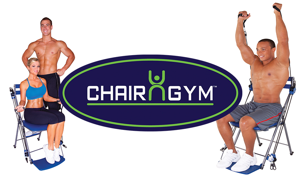 Amazon Com Chair Gym The Total Body Workout All In