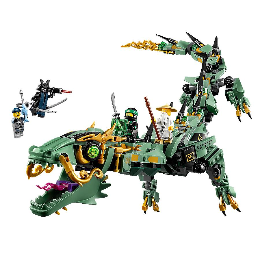 Lego ninjago movie green ninja mech dragon - Lego ninjago ninja ...