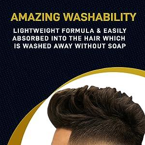 lightweight hair wax