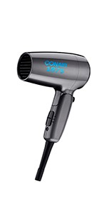 Conair 1875 Watt Compact Folding Handle Hair Dryer