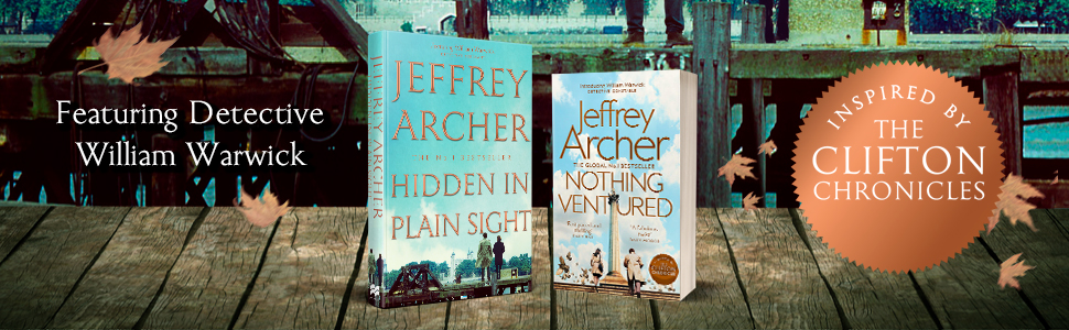 hidden in plain sight, jeffrey archer, william warwick novels, macmillan