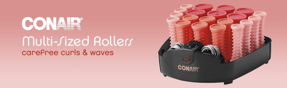 Amazon.com: Conair20 ruleros compactos para cabello de ...