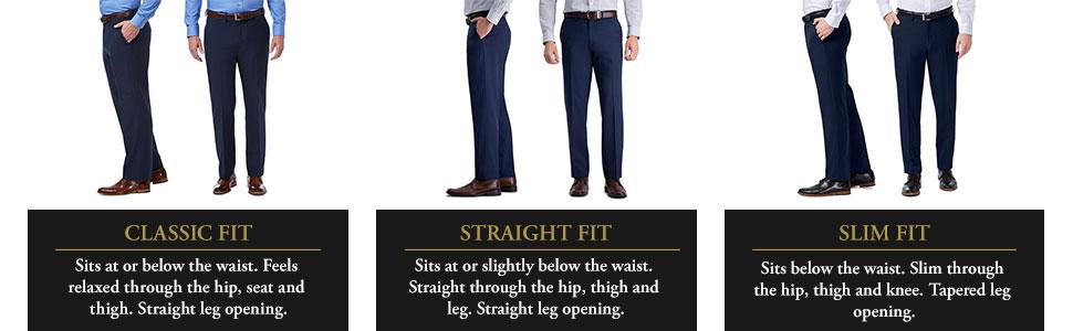 Haggar Premium Comfort Dress Pant, mens dress pant, mens slacks, Haggar mens pants, Haggar dress