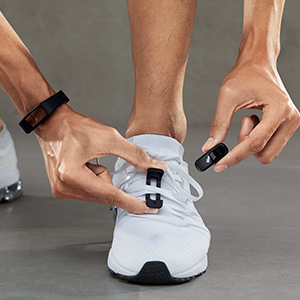 fitness watch activity band with innovative foot mode